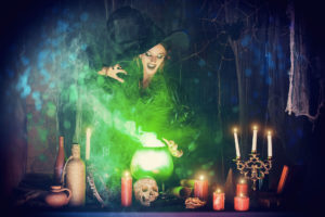 Úniková hra - Čarodějnice